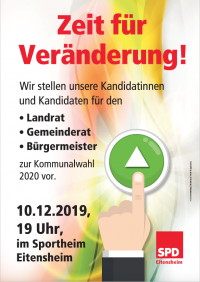 Kandidatenvorstellung SPD Eitensheim