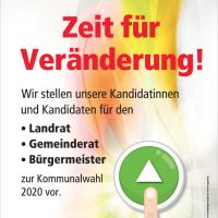 Plakat zur Kandidatenvorstellung am 10.12.2019